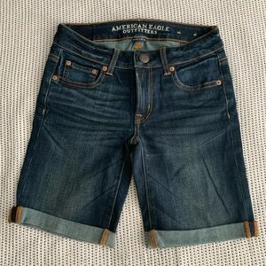 American Eagle Skinny Bermuda Shorts